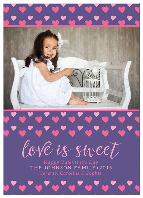 personalized valentines day cards personalized photo s day cards is sweet
