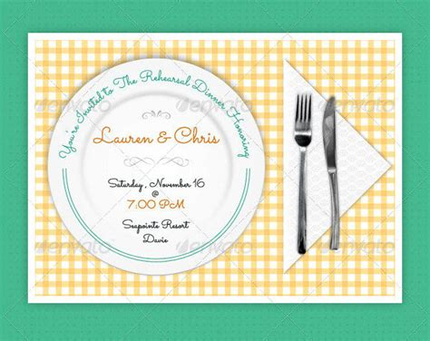 Lunch Invitation Card Template by Dinner Invitation Template 23 Free Premium