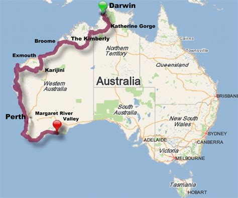 australia driving map and we re let the aussie road trip begin by the