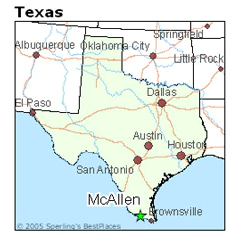 where is mcallen texas on the map best places to live in mcallen texas