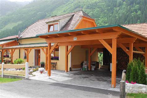 Carport Und Terrassenüberdachung by Das Passende Carport Vom Steirischen Holzbau Meister