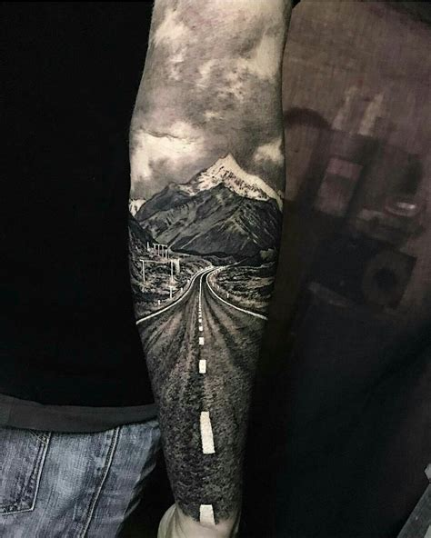 how do you design a sleeve tattoo would never get this but it s a really cool idea tattoes