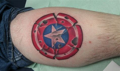 tattoo of us best bits the ultimate collection of captain america tattoos