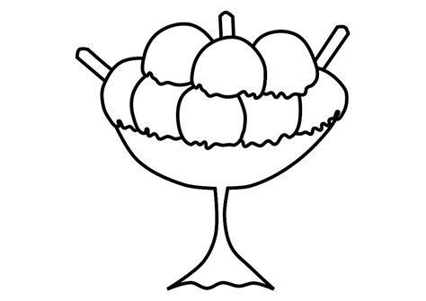 ice cream cup coloring page free printable ice cream coloring pages for kids