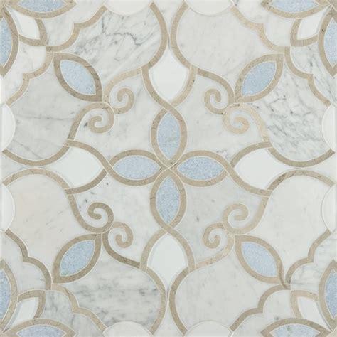 artistic tile artistic tile waterjet collection granada bianco carrara
