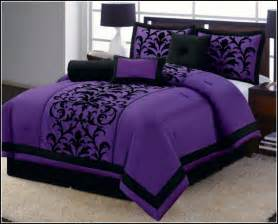 purple bedding size wooden global