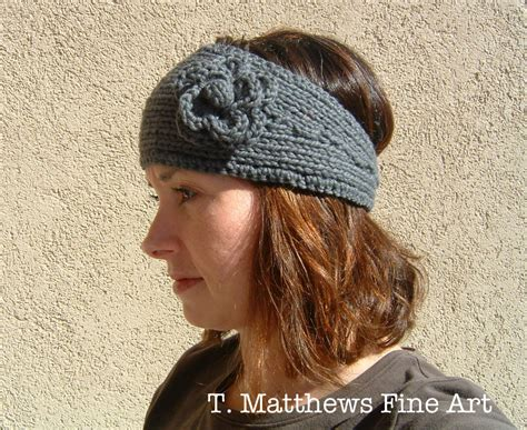 Free Pattern Knitted Headband | t matthews fine art free knitting pattern headband ear