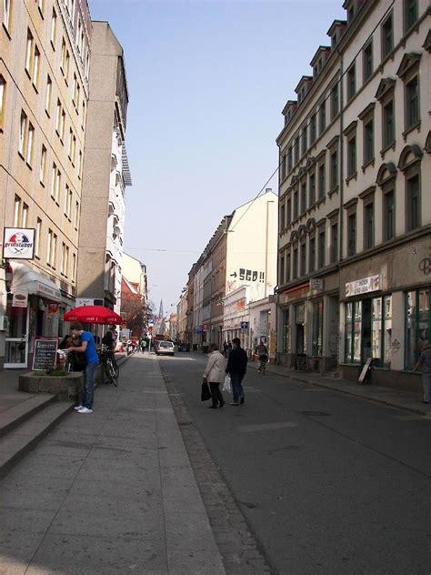 dresden alaunstraße 04 07 dresden neustadt 91 die alaunstrasse vom albertplatz