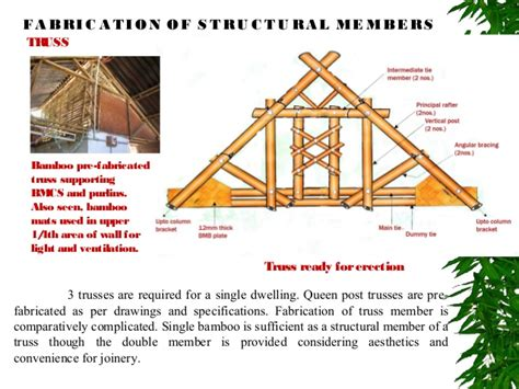 Prefabricated Roof Trusses use of bamboo in sustainable building