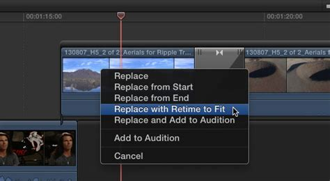 final cut pro how to speed up clip final cut pro 10 1 a first look