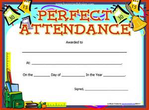 free attendance certificate template attendance certificate template 24 free word pdf