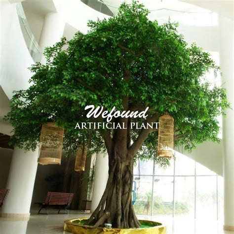 wefound ft large indoor artificial banyan ficus trees