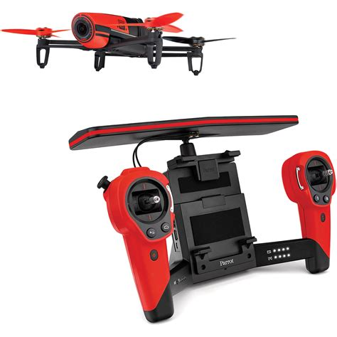 parrot drone with parrot bebop drone quadcopter with skycontroller bundle