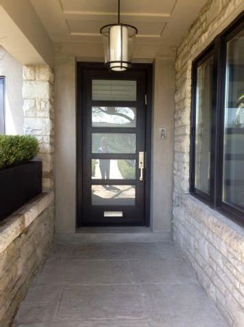 Modern Glass Front Door Modern Entry Door With Frosted Glass And Mail Slot 64