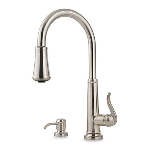 price pfister 174 ashfield pull down kitchen faucets bed bath beyond