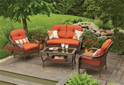 replacement cushions for better homes and gardens patio furniture better homes and gardens azalea ridge cushions walmart