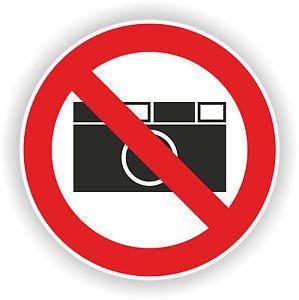 Aufkleber Rund 20 Cm by Aufkleber Schild Fotos Verboten Nicht Fotografieren