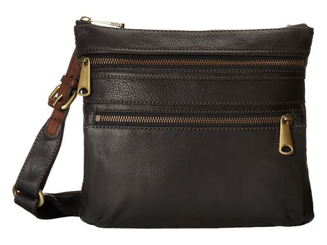 New Arrival Fossil Cross 1715 fossil explorer crossbody sapphire zappos free shipping both ways