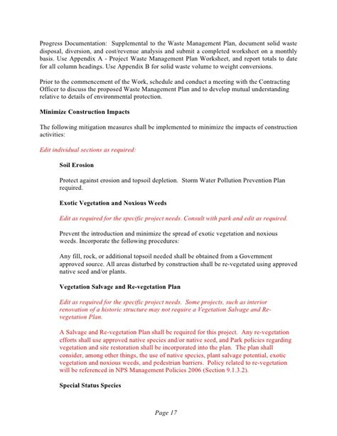 Waste Management Proposal Template One Piece Voip Rfp Template