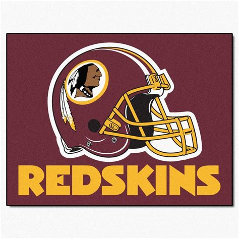 redskins paint colors home depot fanmats washington redskins 2 ft 10 in x 3 ft 9 in all