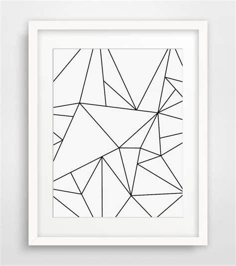 black and white minimal pattern geometric art black and white minimalist art by