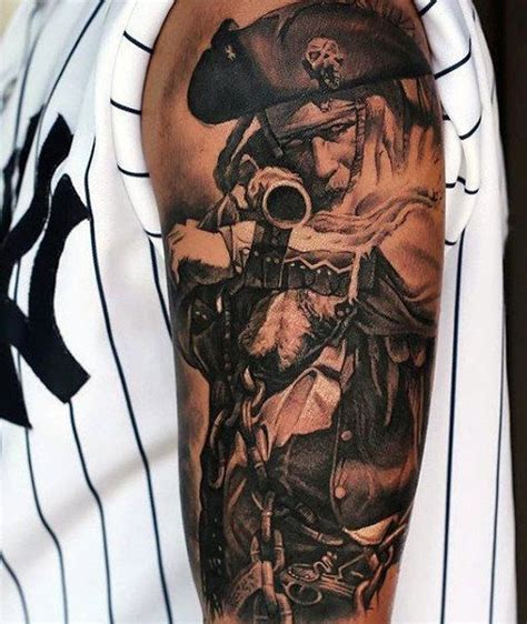 pirate themed tattoos 40 best pirate tattoos for gallery images on