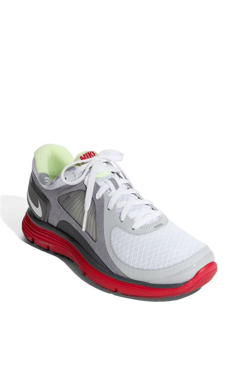 nike neutral running shoe nike lunareclipse running shoe in white white