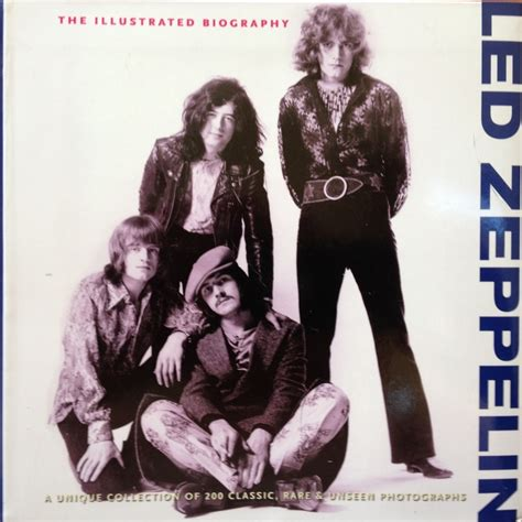 biography of led zeppelin book led zeppelin book quot the illustrated biography quot catawiki