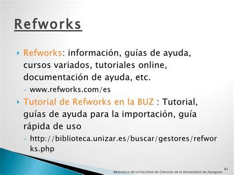 tutorial de zotero en español herramientas bibliogr 225 ficas para la investigaci 243 n en