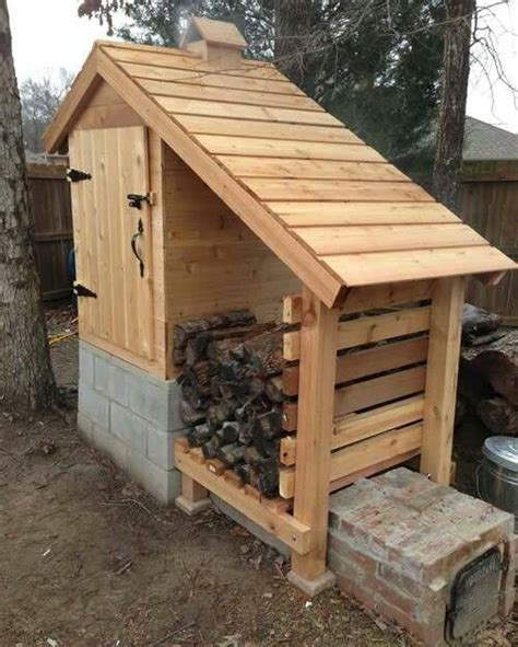 backyard smokehouse its not meat but this would definitely be a cool