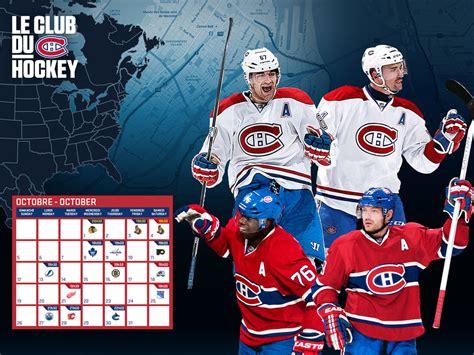 Calendrier Canadiens 2014 15 Montreal Canadiens Wallpaper 2015 Wallpapersafari