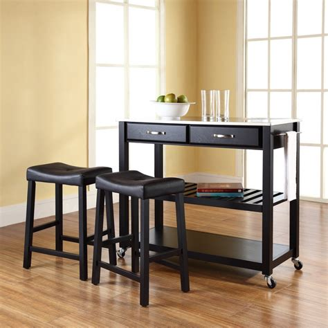 kitchen with stools portable kitchen island with seating home furniture