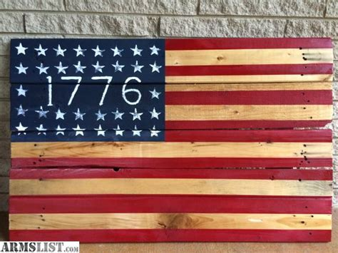 Handmade American Flag - armslist for sale american flag handmade wood