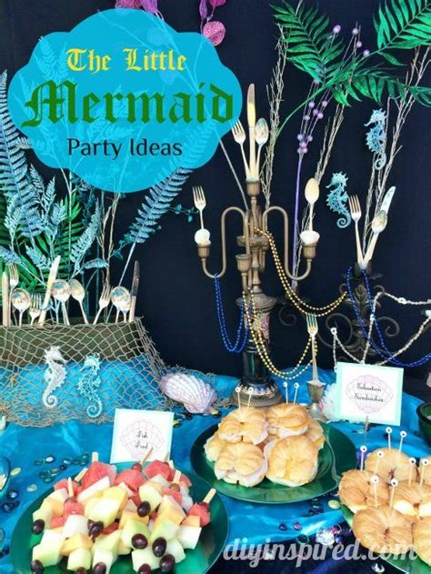 Decorate Home For Birthday Party by The Little Mermaid Party Ideas Diy Inspired