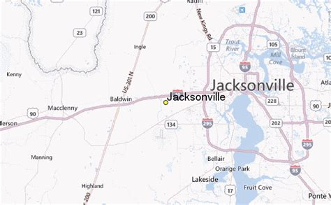 jacksonville florida weather forecast and radar jacksonville weather station record historical weather