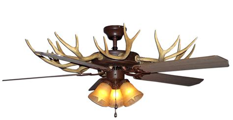 deer ceiling fan antlers ceiling fan