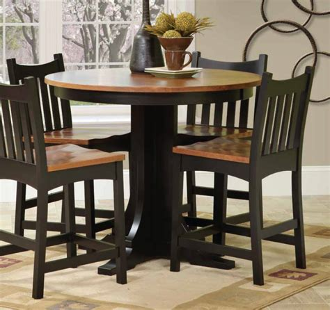 amish pub table and chairs amish crafted arts crafts dining