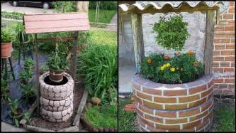 House Plans Blueprints Wishing Well Planter Made From Recycled Tires
