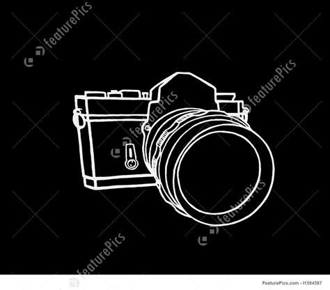 camera sketch wallpaper illustration of camera sketch