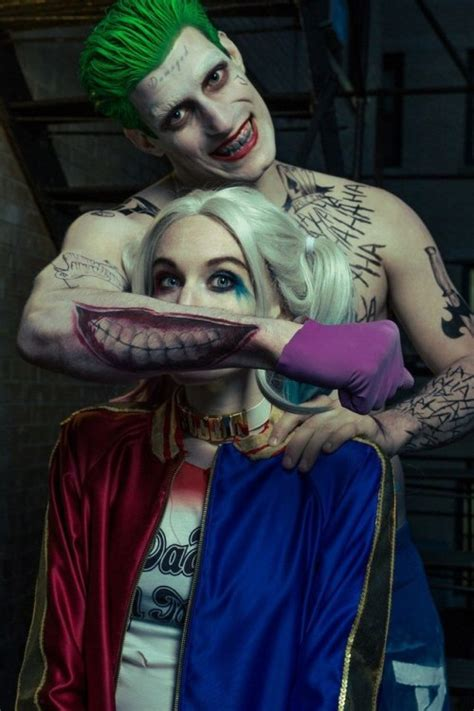 imagenes del joker y su novia fantasias cosplay tumblr