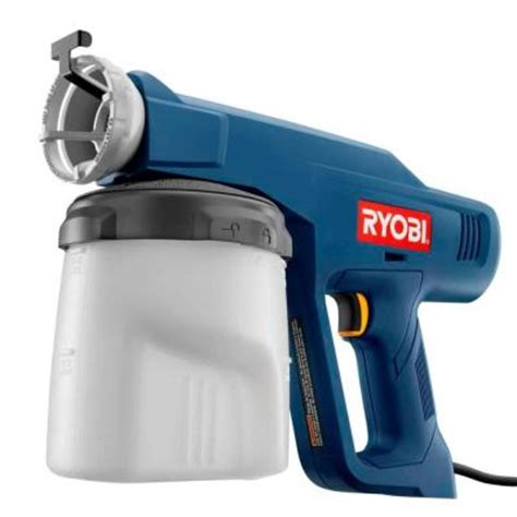 home depot paint sprayer ryobi ryobi speed sprayer discontinued ssp050 the home depot