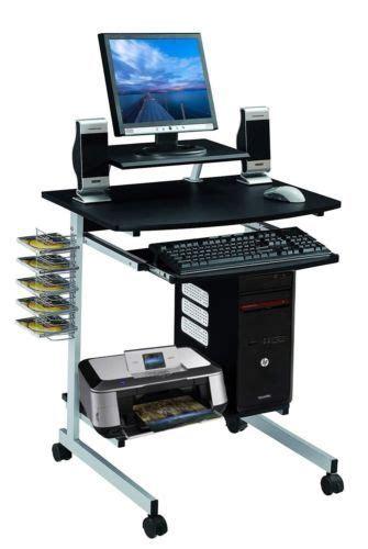 laptop desk portable workstation mobile computer desk cart pc laptop table study portable