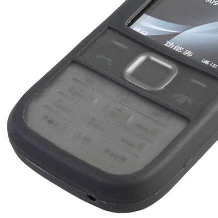 Casing Hp Nokia 2730 Classic silicone for nokia 2730 classic black