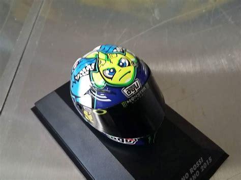 Tas Helm Motif Motogp Vr46 valentino agv helm motogp misano 2015 1 8 398150096