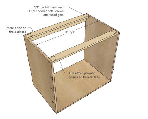 How To Build A Corner Kitchen Cabinet White 36 Quot Corner Base Easy Reach Kitchen Cabinet Basic Model Diy Projects
