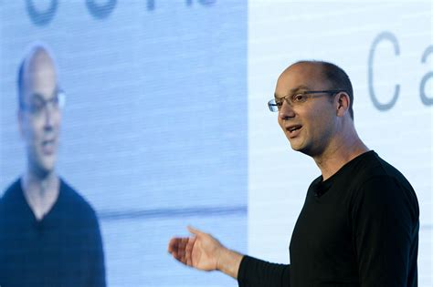android founder former android leader andy rubin leaving wsj