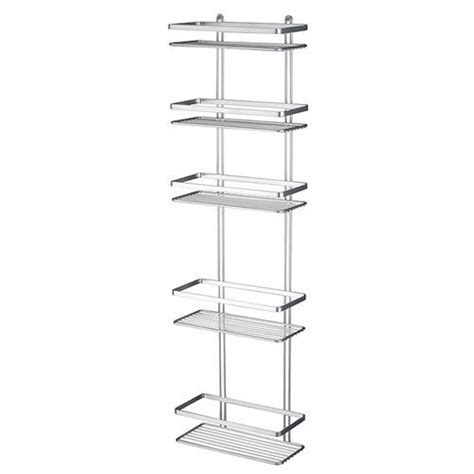 bathroom shower tidy satina 5 tier rectangular shower tidy 56690 at