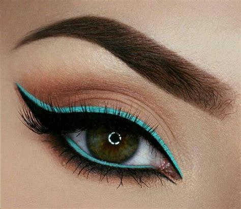 best eyeliner color for blue best 20 color eyeliner ideas on purple