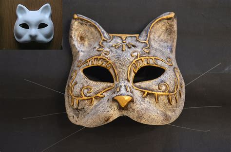 How To Make A Cat Mask Out Of Paper Plates - splicer cat mask by schytelizard94 on deviantart