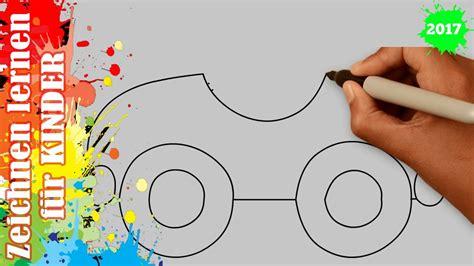 Auto Malen Mit Kindern by Auto Zeichnen 5 In 50s Zeichnen Lernen F 252 R Anf 228 Nger